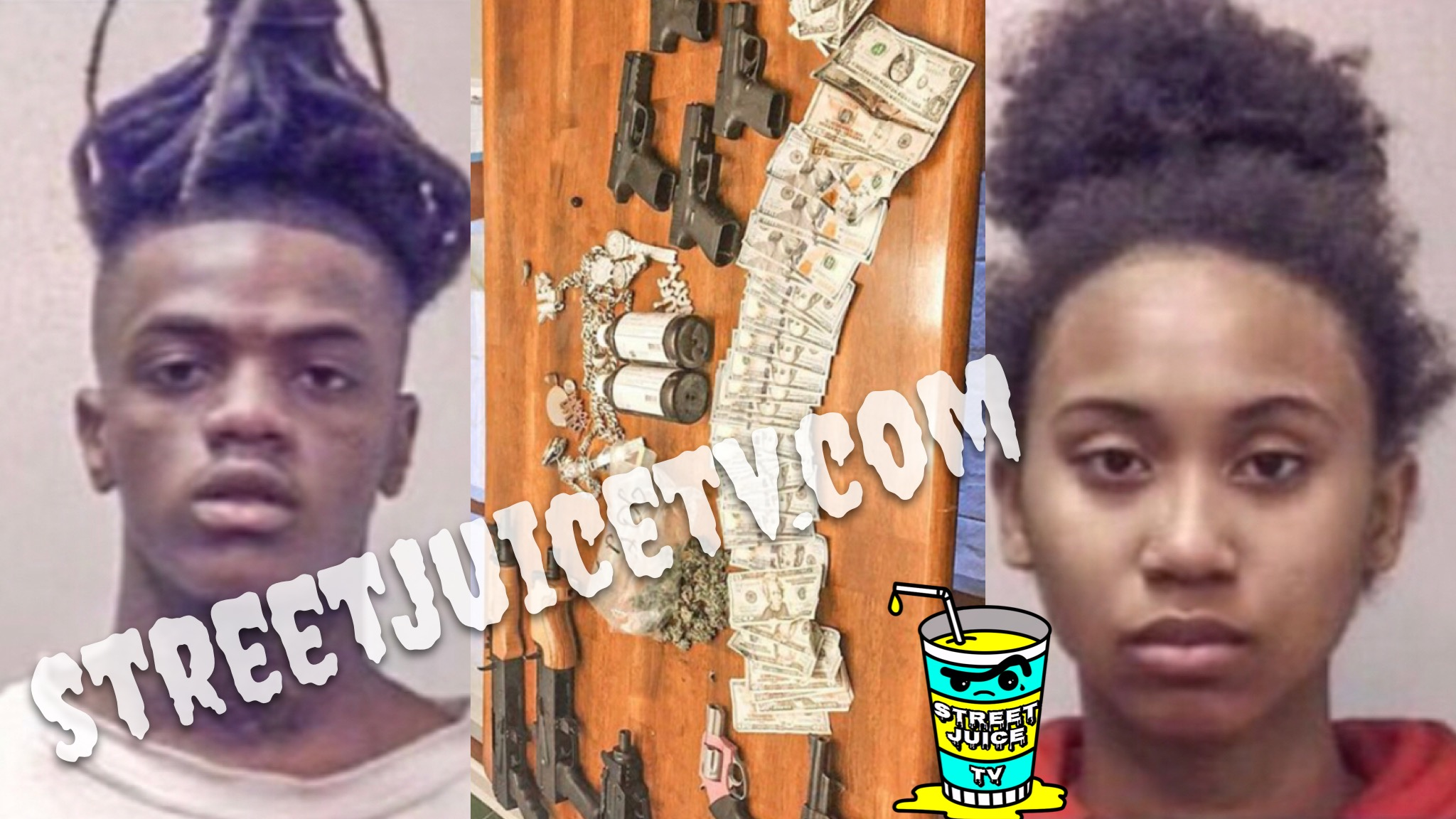 JAYDAYOUNGAN AND PREGNANT GF ARRESTED ON GUN AND DRUG CHARGES IN GEORGIA