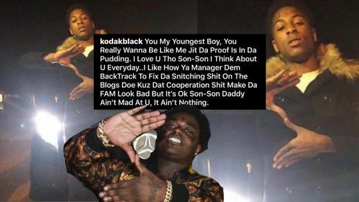 Kodak Calls NBA Youngboy His Son