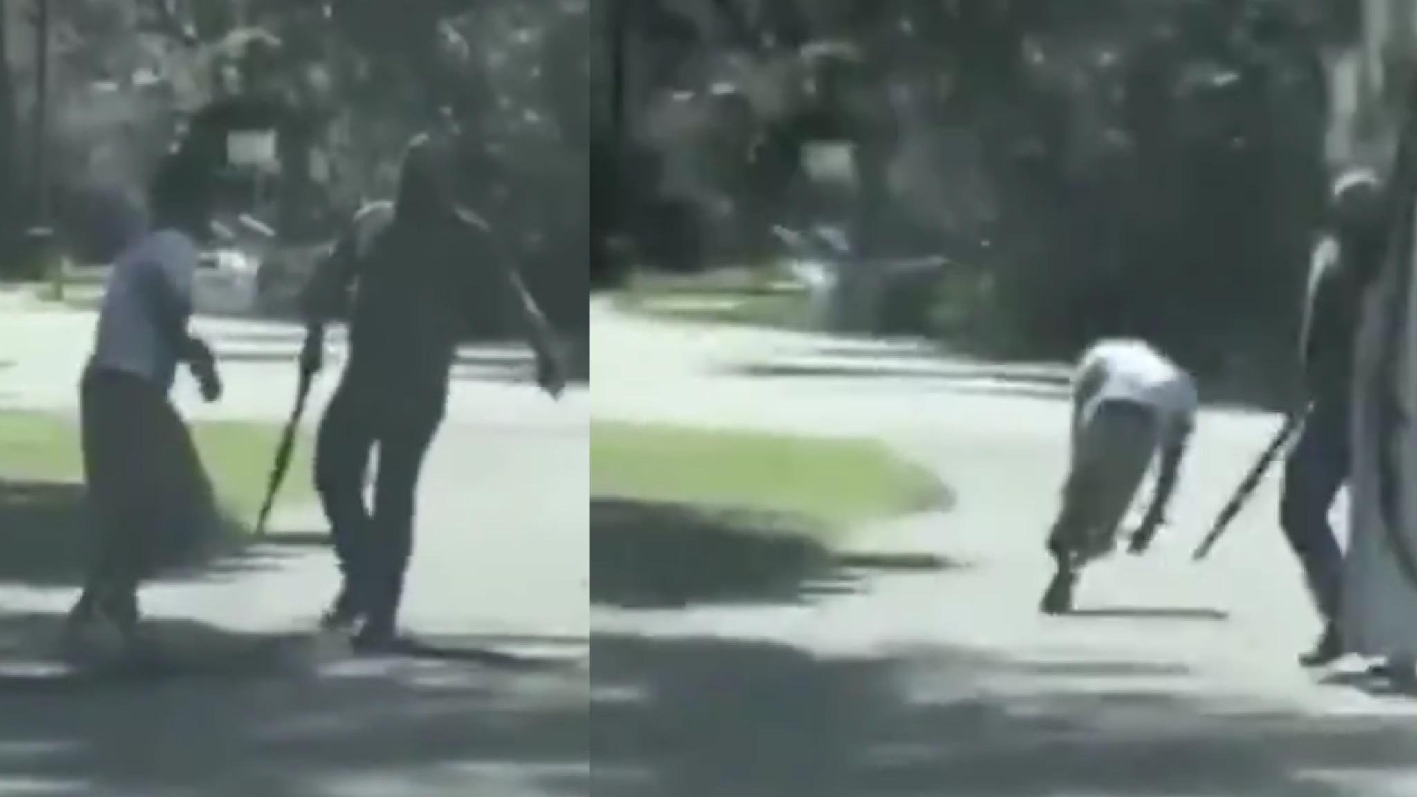 Evil White Police Killed Black Man Jogging In SE Georgia