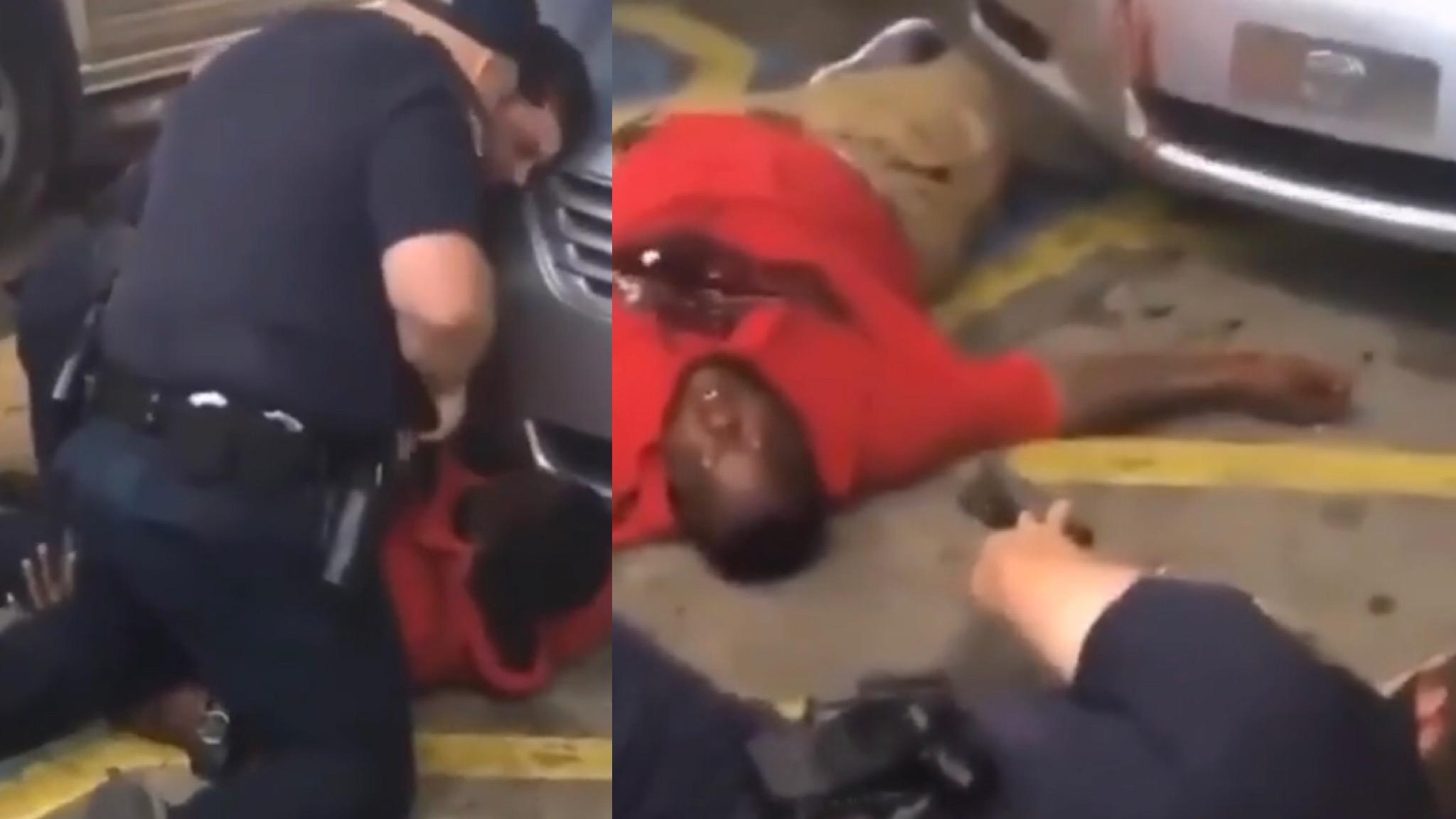 NSFW (18+) Baton Rouge Police Kill Black Man For No Reason