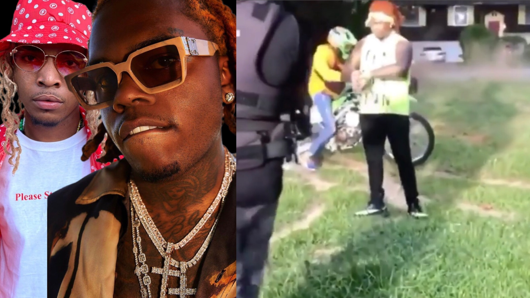 Gunna And Link Keed Shot At During Videoshoot In ATL